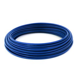 DRAHTSEIL PVC BLUE  2,5/5mm