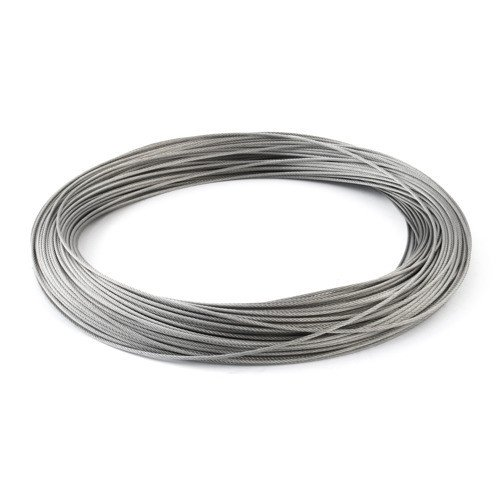 DQ-PP 2,5mm 15m Edelstahl Drahtseil 7x19 TOP WARE Stahlseil Seil Draht Stahl V4A INOX A4 rostfrei Gel/änder Edelstahlseil