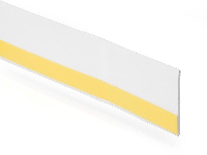 60mm 150m Fensterleiste selbstklebend weiss St/ärke 1,5mm Breite