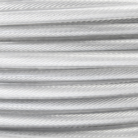 DRAHTSEIL PVC TRANSPARENT 2/4mm