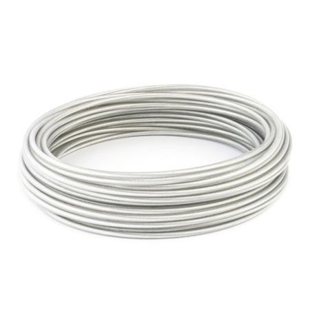 DRAHTSEIL PVC TRANSPARENT 2,5/5mm