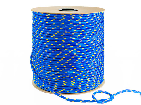 Polypropylen Seil 2mm Blau